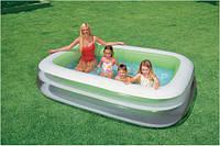 "Детский надувной бассейн ""Семейный"" Intex 56483 (262х175х56 см.)"
