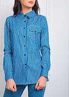 Рубашка джинсовая 1402