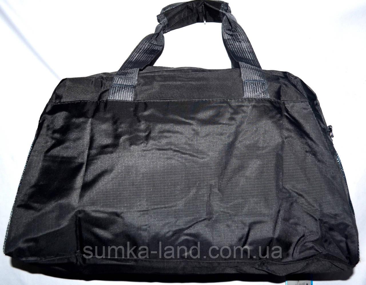 21dd2cb02f15 ... Универсальная спортивная дорожная сумка в черном цвете 48*30 см, фото 5