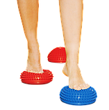 Масажна балансувальна півсфера, комплект = 2 штуки, фото 2