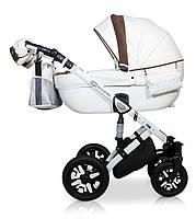 Детская универсальная коляска 2 в 1 Verdi Eclipse 04, белый/бежевый (7732)