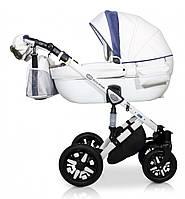 Детская универсальная коляска 2 в 1 Verdi Eclipse 04, белый/голубой (7731)