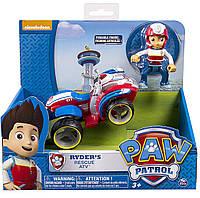 Райдер на мотовездеходе, Щенячий Патруль - Ryder's Recue ATV, Spin Master