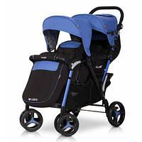 Детская прогулочная коляска для двойни EasyGo Fusion Duo.