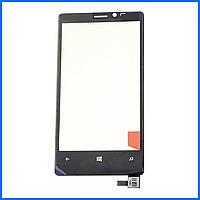 Тачскрин (сенсор) для Nokia 920 Lumia, черный, оригинал