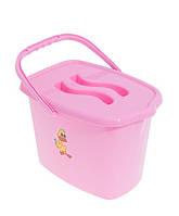 Відро Balbinka TG-016 pink