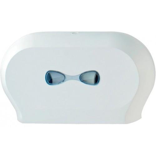 Держатель бумаги туалетной JUMBO двойной PLUS (773)