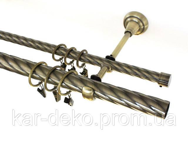 Фото карниза Bojanek труба 25 мм и 16 мм