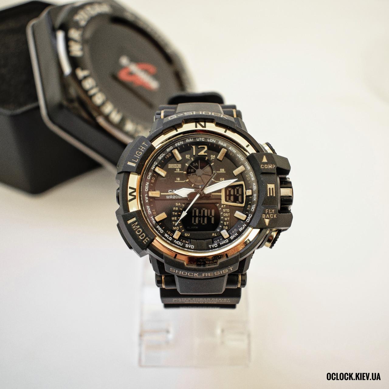 Часы Casio G-Shock GW-1100 золотой (replica)