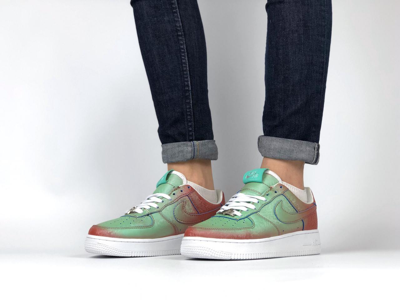 32c6f8d7 Кроссовки Nike Air Force 1 Preserved Icons / Lady Liberty (ТОП РЕПЛИКА ААА+)