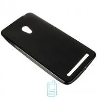 Чехол силиконовый цветной ASUS ZenFone 6 черный