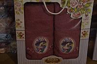 Махровые наборы полотенец