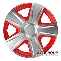 Колпаки R15  Elegant Esprit  Silver&red
