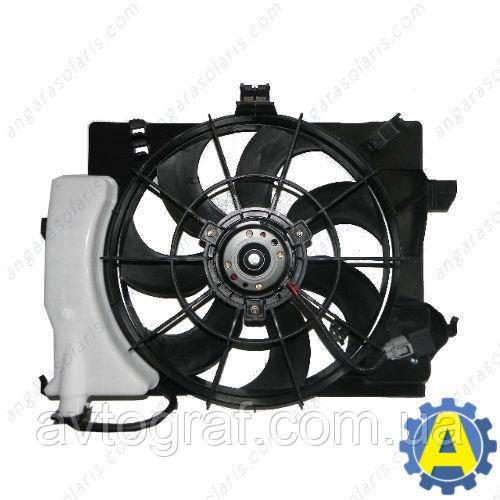 Дифузор с вентилятором и бачком на Хьюндай Акцент(Hyundai Accent / Hyundai Solaris)2010-2014