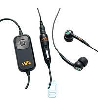 Наушники с микрофоном Sony Ericsson HPM-82 (W900) original черные