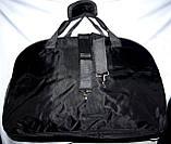 Универсальная спортивная дорожная сумка 56*36 см фиолетовая, фото 3