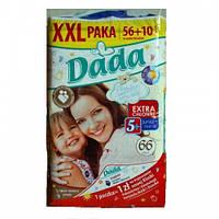 Подгузники Dada Premium Extfa Soft р.5+ (13-27 кг) 66шт.