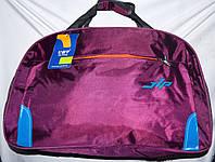 Универсальная спортивная дорожная сумка 56*36 см фиолетовая, фото 1