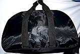 Универсальная спортивная дорожная сумка 58*35 см синяя, фото 2