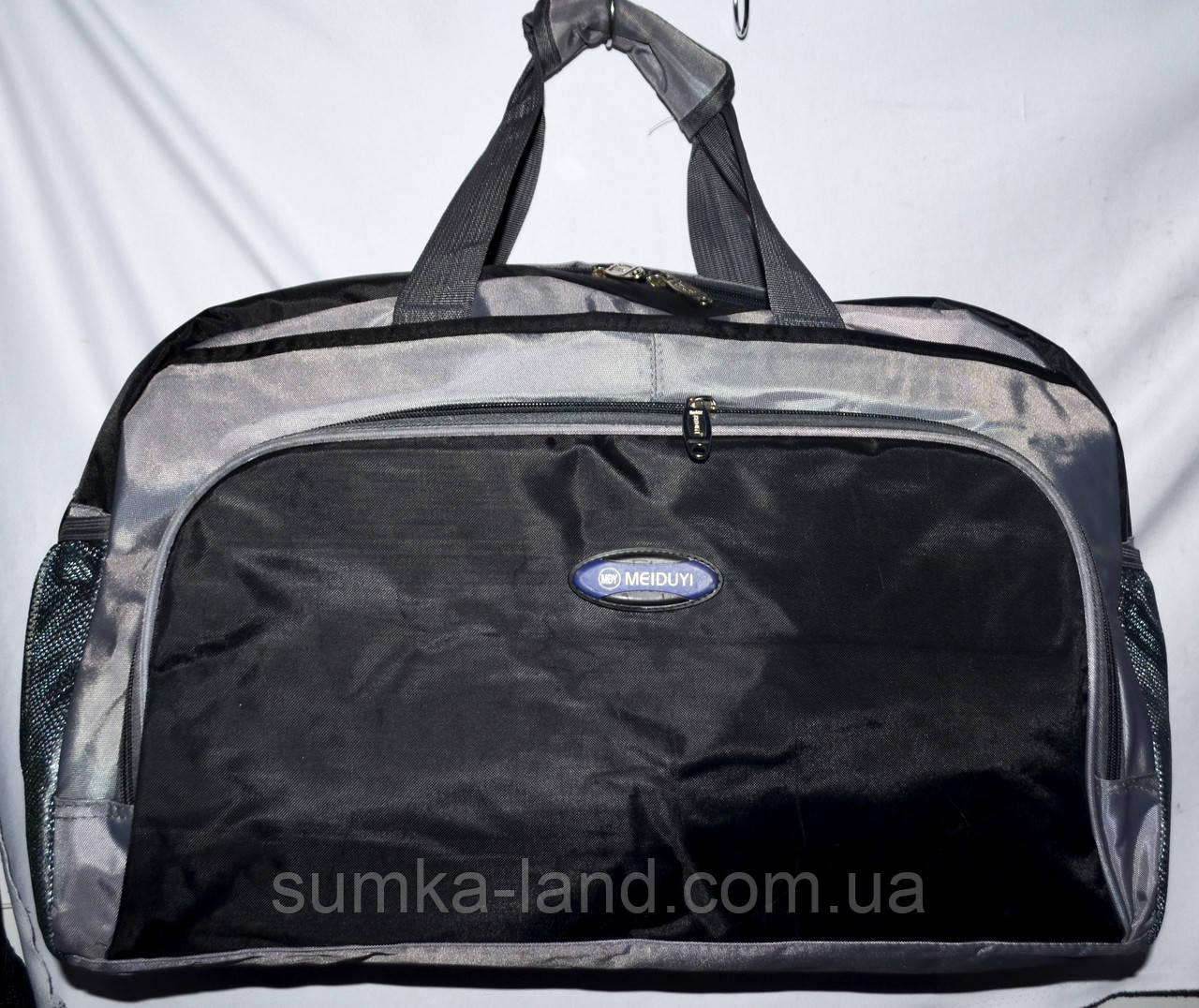 Универсальная спортивная дорожная сумка 52*31 см черная