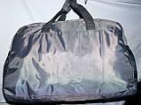 Универсальная спортивная дорожная сумка 52*31 см черная, фото 4