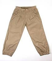 Бежевые брюки для девочки. Размеры: 80