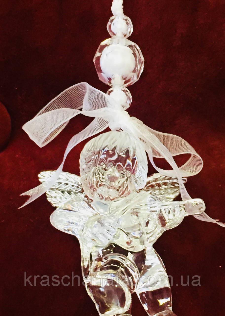 Ангел, акрил, підвіска, 17 см, Оригінальні подарунки, Дніпро