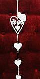 Подвеска, Сердце голуби, металл, Декорация, День Валентина, Любовь, фото 4