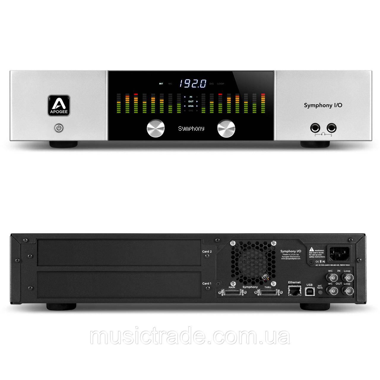Аудиоинтерфейс Apogee Symphony I/O (chassis)