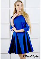 Платье Хэлли электрик (44-52), фото 1