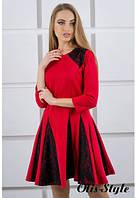 Платье Хэлли красный (44-52), фото 1