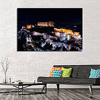 Картина - панорамный вид на Афины Греция