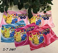 Трусики детские шортики с покемонами