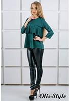 Блуза Альмина зеленый (44-52), фото 1