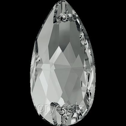 Стразы Swarovski пришивные 3230 Crystal Silver Night