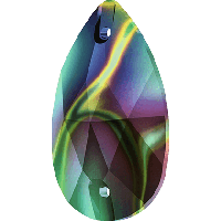 Стразы Сваровски пришивные 3230 Crystal Rainbow Dark