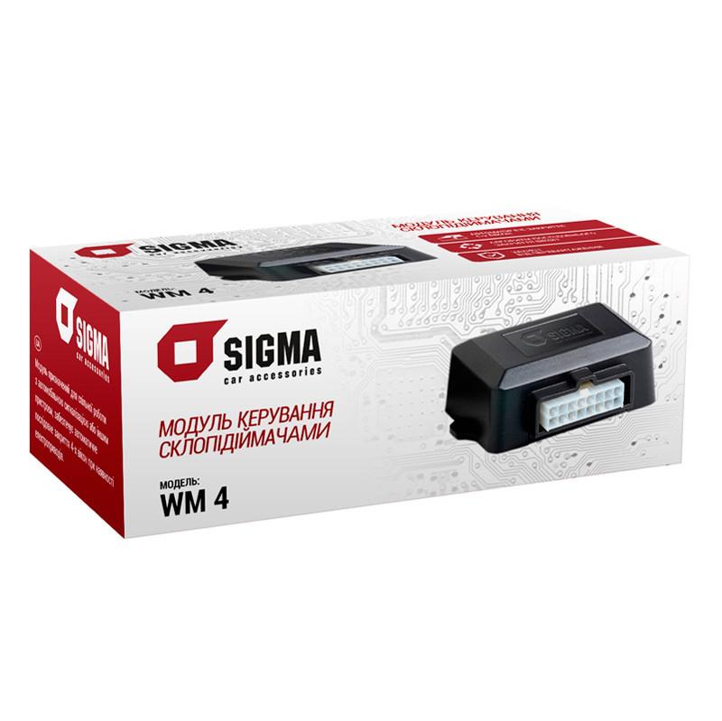 Модуль управления стеклоподъемниками SIGMA WM4