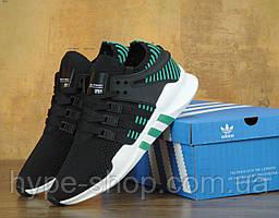 Мужские черные кроссовки Adidas EQT | Люкс Реплика