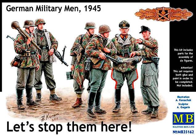 """""""Давайте остановим их здесь! Немецкие военнослужащие, 1945"""". 1/35 MB35162, фото 2"""