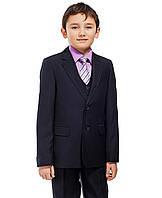 Школьный костюм-тройка для мальчика Lilus, р.128 синий