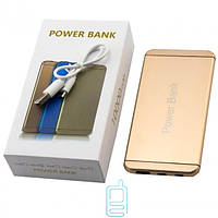 Power Bank design iPhone 6 10000 mAh золотистый