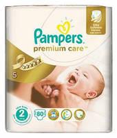 Подгузники Pampers Premium Care 2(3-6кг) 80шт.