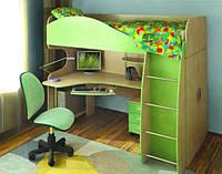 """Кровать чердак со столом и шкафом """"Балу"""" (детский комплекс)"""