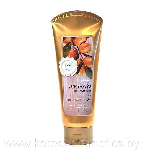 Маска для волос с Арганом и Золотом Welcos Confume Argan Gold Treatment, 200мл