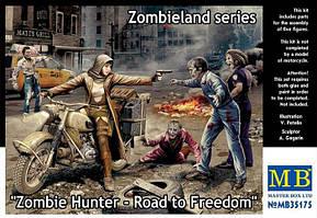 Охотник на зомби - Дорога к свободе. Серия Zombieland. 1/35 MASTER BOX 35175