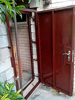 """Двери входные металлические без обшивки """"под заказ"""""""