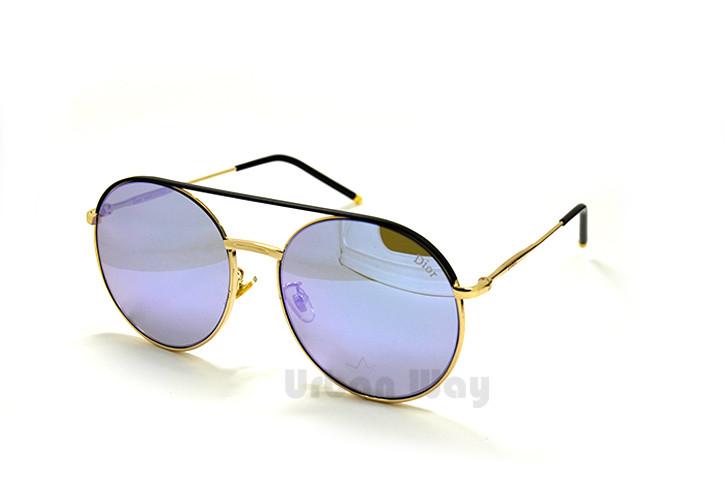 8a1303ea567a Женские солнцезащитные очки Dior, в ультрамодной оправе с зеркальными  линзами