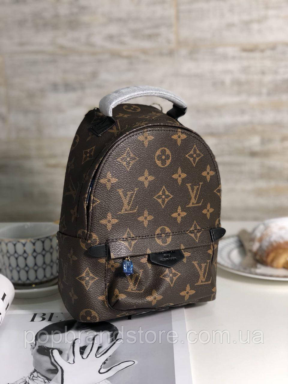 a5e5e6b1b689 Крутой женский рюкзак LOUIS VUITTON PALM SPRING mini LUX (реплика) - Pop  Brand Store