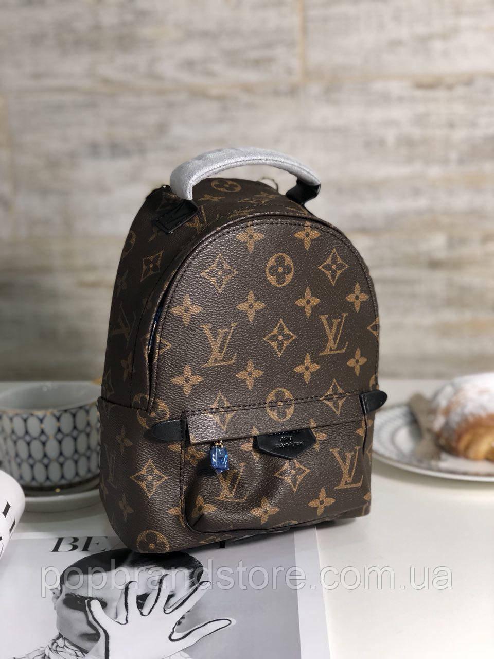 5bf1b1739033 Крутой женский рюкзак LOUIS VUITTON PALM SPRING mini LUX (реплика ...