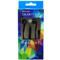 Наушники с микрофоном Samsung S4 S5 черные
